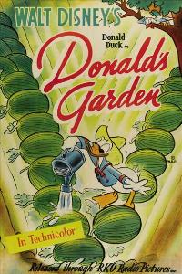 Donald's Garden - 27 x 40 Movie Poster - Style A