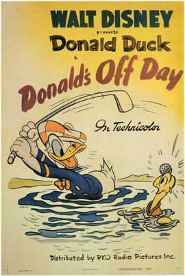 Donald's Off Day - 11 x 17 Movie Poster - Style A