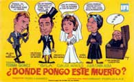 �Donde pongo este muerto? - 27 x 40 Movie Poster - Spanish Style A