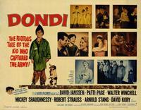 Dondi - 22 x 28 Movie Poster - Half Sheet Style B