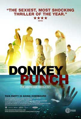 Donkey Punch - 11 x 17 Movie Poster - Style A