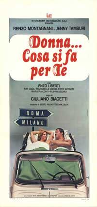 Donna... cosa si fa per te - 13 x 28 Movie Poster - Italian Style A