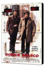 Donnie Brasco - 11 x 17 Movie Poster - Style B - Museum Wrapped Canvas