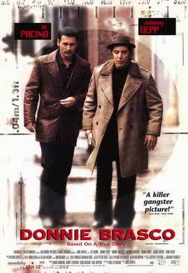 Donnie Brasco - 11 x 17 Movie Poster - Style B