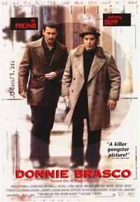 Donnie Brasco - 43 x 62 Movie Poster - Bus Shelter Style A