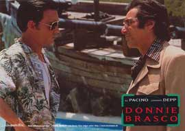 Donnie Brasco - 11 x 14 Poster German Style D