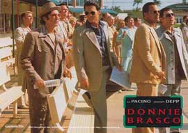 Donnie Brasco - 11 x 14 Poster German Style E