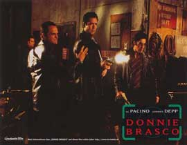 Donnie Brasco - 11 x 14 Poster German Style F