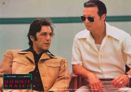 Donnie Brasco - 11 x 14 Poster German Style I