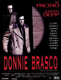 Donnie Brasco - 27 x 40 Movie Poster - Spanish Style A