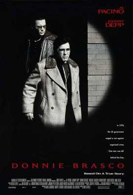 Donnie Brasco - 11 x 17 Movie Poster - Style E