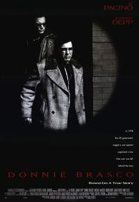 Donnie Brasco - 11 x 17 Movie Poster - Style A - Museum Wrapped Canvas