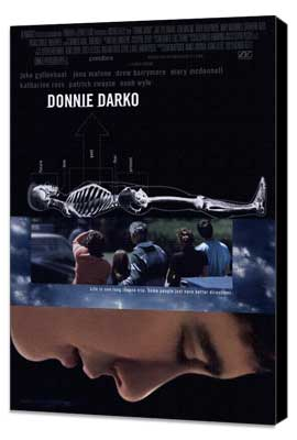 Donnie Darko - 11 x 17 Movie Poster - Style B - Museum Wrapped Canvas