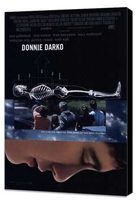 Donnie Darko - 27 x 40 Movie Poster - Style B - Museum Wrapped Canvas