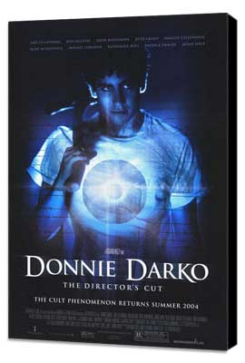 Donnie Darko - 27 x 40 Movie Poster - Style D - Museum Wrapped Canvas