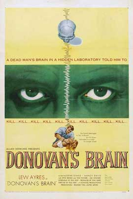 Donovan's Brain - 11 x 17 Movie Poster - Style A