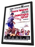 Donovan's Reef - 27 x 40 Movie Poster - Style A - in Deluxe Wood Frame