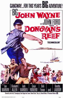Donovan's Reef - 11 x 17 Movie Poster - Style A
