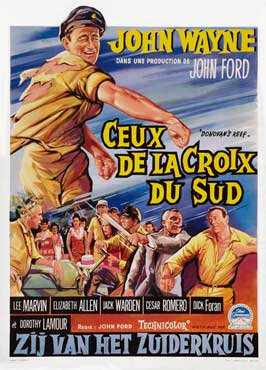 Donovan's Reef - 11 x 17 Movie Poster - Belgian Style A