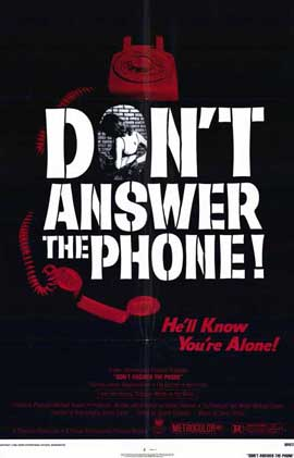 Don't Answer the Phone - 11 x 17 Movie Poster - Style A