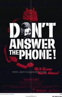 Don't Answer the Phone - 27 x 40 Movie Poster - Style A