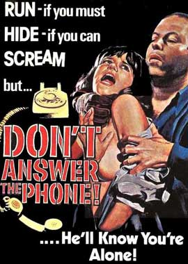 Don't Answer the Phone - 11 x 17 Movie Poster - Style C