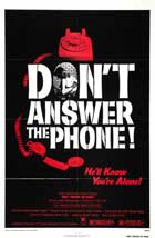 Don't Answer the Phone! - 27 x 40 Movie Poster - Style A