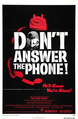 Don't Answer the Phone! - 11 x 17 Movie Poster - Style A