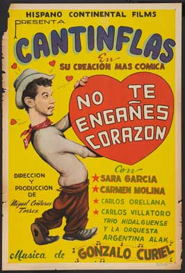 Don't Fool Yourself Dear - 11 x 17 Movie Poster - Spanish Style A
