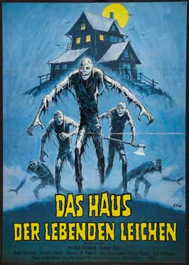 Don't Go in the House - 11 x 17 Movie Poster - German Style A