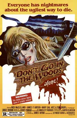 Don't Go in the Woods - 11 x 17 Movie Poster - Style A