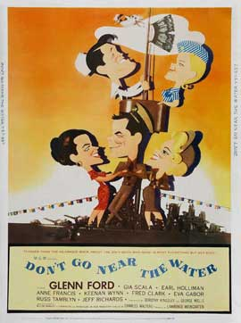 Dont Go Near The Water - 11 x 17 Movie Poster - Style B