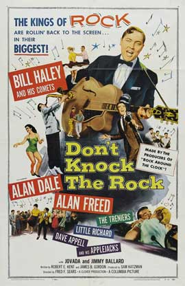 Don't Knock The Rock - 27 x 40 Movie Poster - Style A