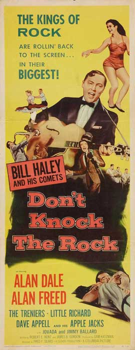 Don't Knock The Rock - 14 x 36 Movie Poster - Insert Style A