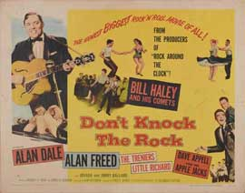 Don't Knock The Rock - 11 x 14 Movie Poster - Style B