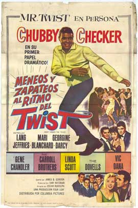Don't Knock the Twist - 11 x 17 Movie Poster - Spanish Style A