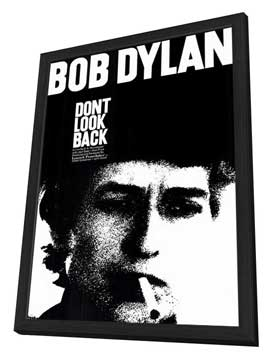 Don't Look Back - 11 x 17 Movie Poster - Style A - in Deluxe Wood Frame