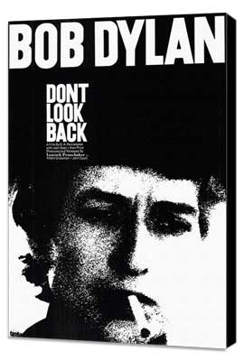 Don't Look Back - 11 x 17 Movie Poster - Style A - Museum Wrapped Canvas