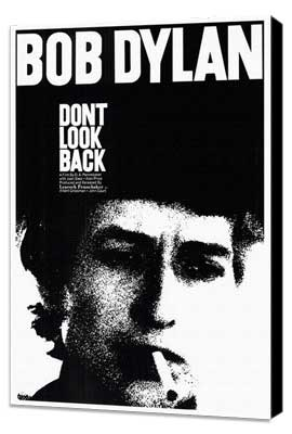 Don't Look Back - 27 x 40 Movie Poster - Style A - Museum Wrapped Canvas