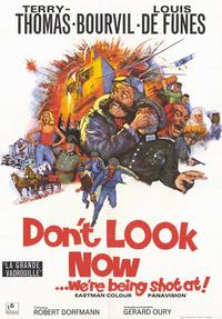 Don't Look Now We're Being Shot At - 11 x 17 Movie Poster - Style A