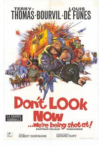 Don't Look Now We're Being Shot At - 27 x 40 Movie Poster - Style A