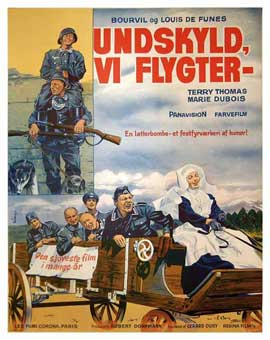 Don't Look Now We're Being Shot At - 11 x 17 Movie Poster - Danish Style A