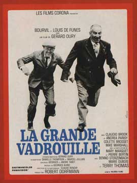 Don't Look Now We're Being Shot At - 11 x 17 Movie Poster - French Style B