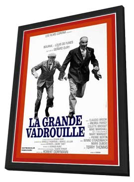 Don't Look Now We're Being Shot At - 11 x 17 Movie Poster - French Style A - in Deluxe Wood Frame