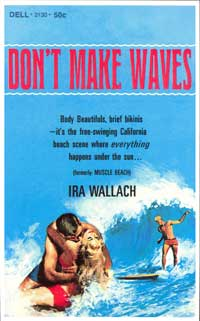 Don't Make Waves - 11 x 17 Retro Book Cover Poster