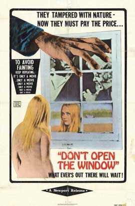 Dont Open the Window - 11 x 17 Movie Poster - Style A