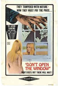 Dont Open the Window - 27 x 40 Movie Poster - Style A