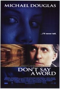 Don't Say a Word - 27 x 40 Movie Poster - Style A