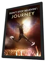 Don't Stop Believin': Everyman's Journey - 11 x 17 Movie Poster - Style A - in Deluxe Wood Frame