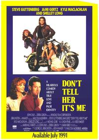 Don't Tell Her It's Me - 11 x 17 Movie Poster - Style B